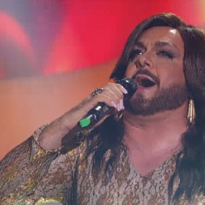 TALE E QUALE SHOW 2014 - Gabriele Cirilli as Conchita Wurst