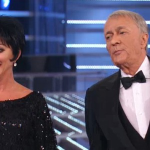 TALE E QUALE SHOW 2014 - Rita Forte as Liza Minelli e Gianni Nazzaro as Frank Sinatra
