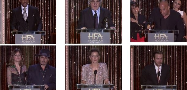 HOLLYWOOD FILM AWARDS 2015