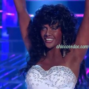 TALE E QUALE SHOW 2015 - Roberta Giarrusso as Donna Summer