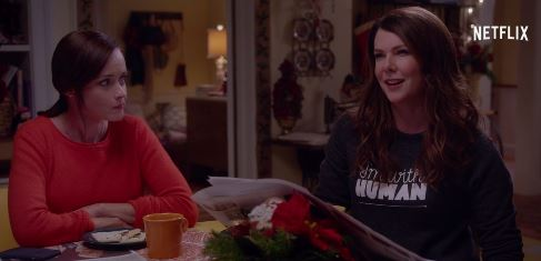 GILMORE GIRLS - Alexis Bledel e Lauren Graham