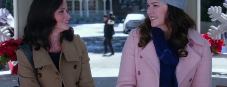 """GILMORE GIRLS"" - Alexis Bledel e Lauren Graham"