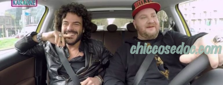 """CARPOOL KARAOKE"" - Francesco Renga ospite"