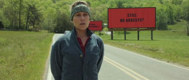 "Foto: ""Three Billboards outside Ebbing,Missouri"" Official Youtube Trailer"