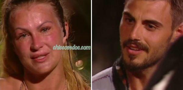 """""""ISOLA DEI FAMOSI 13"""" - Eva Henger vs Francesco Monte"""