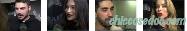 """""""POMERIGGIO 5"""" - Francesco Monte, Ludovica Valli, Filippo Magnini, Aida Yespica"""