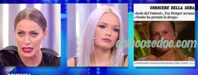 """""""DOMENICA LIVE"""" - Mercedesz Henger, Karina Cascella"""