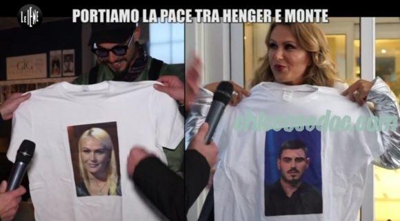 """LE IENE"" - Segnali di pace fra Eva Henger e Francesco Monte"