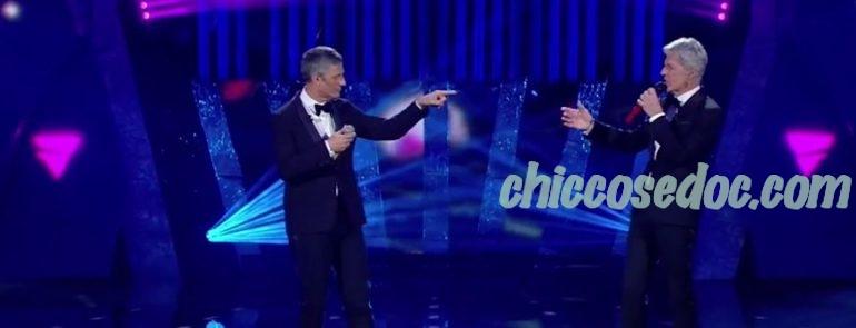 """""""SANREMO 2018"""" - Fiorello e Claudio Baglioni"""