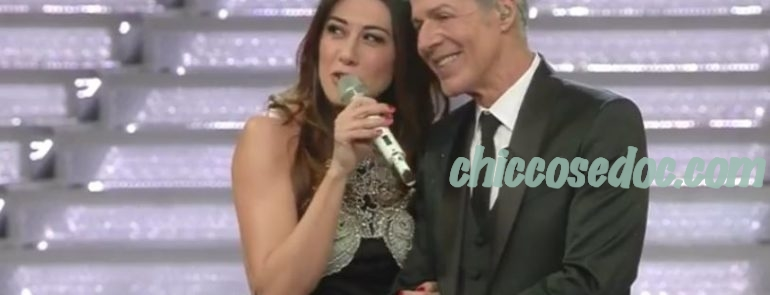 """""""SANREMO 2018"""" - Claudio Baglioni e Virginia Raffaele"""