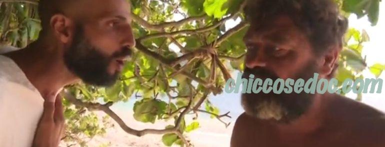 """""""ISOLA DEI FAMOSI 13"""" - Jonathan Kashanian rinfaccia a Franco Terlizzi la strategia della nomination"""