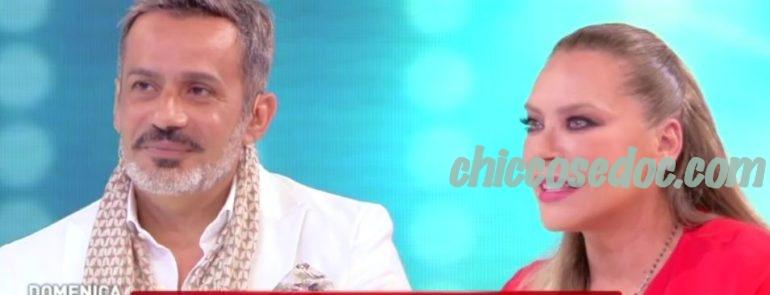 """""""DOMENICA LIVE"""" - Barbara De Rossi con il compagno Simone"""