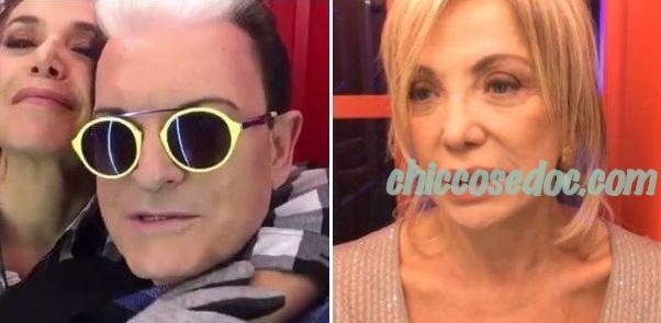 """""""GF 15"""" - Cristiano Malgioglio e Simona Izzo opinionisti con Barbara D'Urso"""
