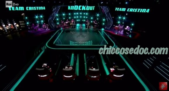 """""""THE VOICE OF ITALY 5"""" - Il Secondo """"Knock Out"""""""