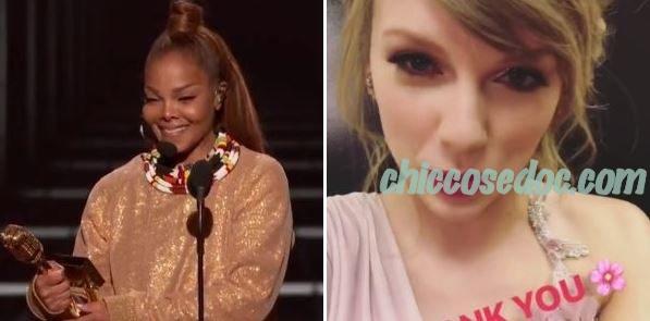 """BILLBOARD MUSIC AWARDS 2018"" - Premiate Janet Jackson e Taylor Swift"