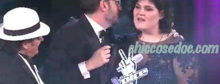 """""""THE VOICE OF ITALY 5"""" - Vincono Maryam Tancredi ed il suo coach, Al Bano Carrisi"""