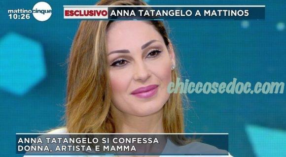 """MATTINO 5"" - Anna Tatangelo ospite"