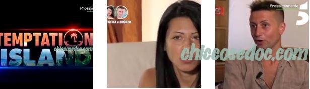 """""""TEMPTATION ISLAND 5"""" - Valentina ed Oronzo, la terza coppia in gioco"""