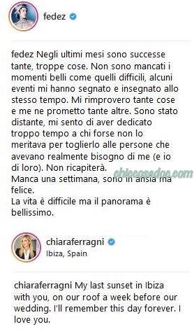 Fedez, Chiara Ferragni