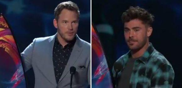 """TEEN CHOICE AWARDS 2018"" - Chris Pratt e Zac Efron"