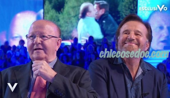 """""""VERISSIMO"""" - Massimo Boldi e Christian De Sica in studio insieme.."""