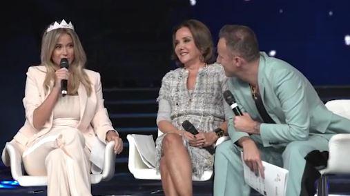 """""""MISS ITALIA 2018"""" - Francesco Facchinetti, Patrizia Mirigliani e Diletta Leotta.."""