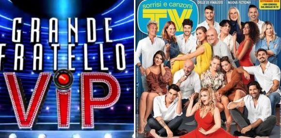 """""""GRANDE FRATELLO VIP 3"""" - La foto di copertina con l'intero cast sul nuovo """"Tv Sorrisi e Canzoni"""""""