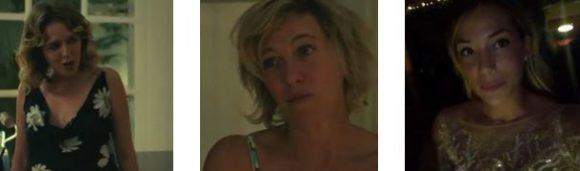 """""""MOSTRA DEL CINEMA DI VENEZIA"""" - Valeria Golino e Valeria Bruni Tedeschi per """"Les Estivants"""". Ed il tappeto rosso di Alice Campello.."""