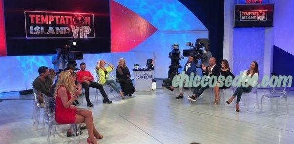 """""""TEMPTATION ISLAND VIP"""" - I protagonisti in studio a """"Uomini & Donne"""".."""