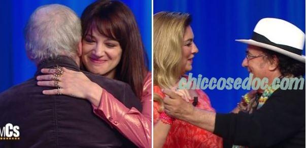 """""""MAURIZIO COSTANZO SHOW"""" - Asia e il padre Dario Argento, Al Bano Carrisi e Romina Power"""