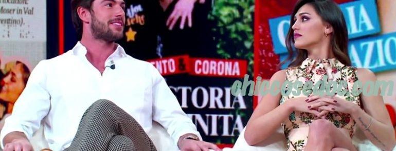 """""""LA REPUBBLICA delle DONNE"""" - Cecilia Rodriguez ed il fidanzato Ignazio Moser ospiti"""