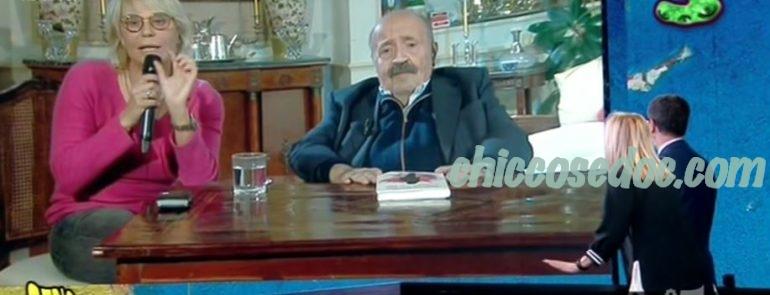 """""""STRISCIA LA NOTIZIA"""" - Il collegamento in casa De Filippi-Costanzo a """"Che Tempo Che Fa"""", in classifica fra i """"Nuovi Mostri"""".."""