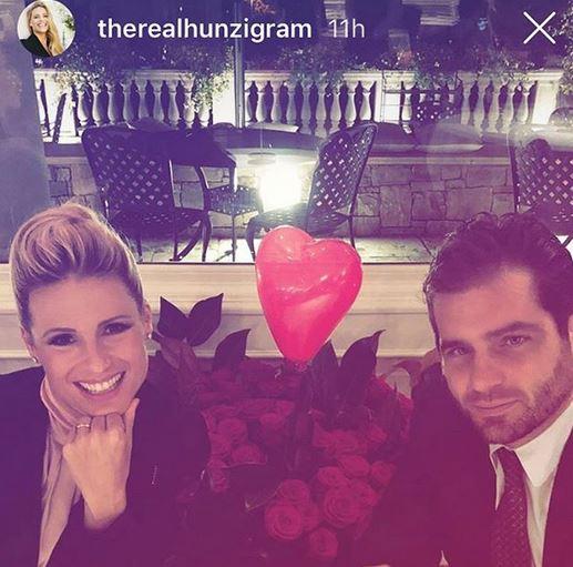 Tomaso Trussardi e la moglie Michelle Hunziker