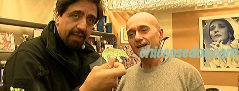 """""""STRISCIA LA NOTIZIA"""" - Valerio Staffelli attapira Alfonso Signorini e vendica Ilary Blasi.."""