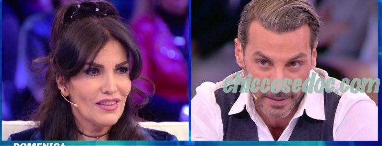 """""""DOMENICA LIVE"""" - Daniele Interrante vs Fariba Tehrani.."""