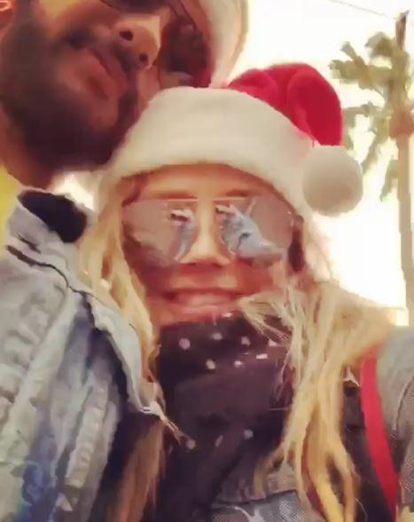 Heidi Klum ed il fidanzato Tom Kaulitz..