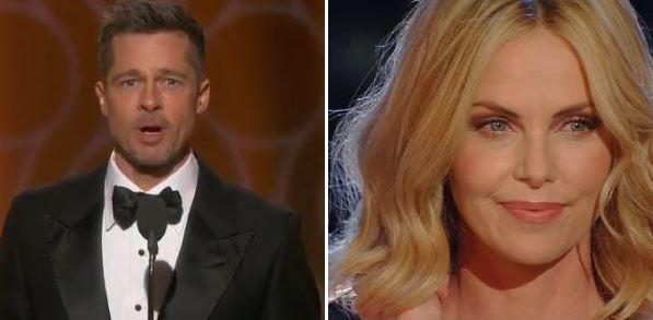 """LE """"COPPIE CHE NON TI ASPETTI"""" DEL 2019 - Brad Pitt e Charlize Theron?"""