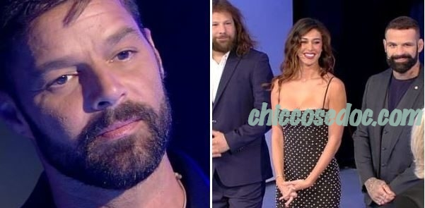 """C'E' POSTA PER TE"" - Ricky Martin, Alessio Sakara, Belen Rodriguez e Martin Castrogiovanni ospiti.."