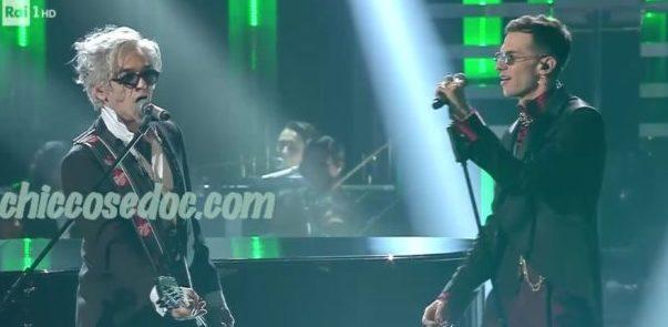 """""""SANREMO 2019"""" - Achille Lauro duetta con Morgan sulla sua """"Rolls Royce"""".."""