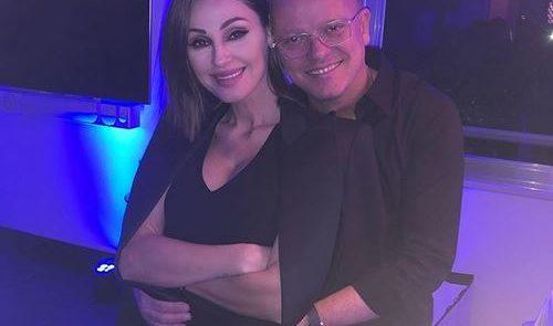Anna Tatangelo e la festa a sorpresa organizzata per il compagno Gigi D'Alessio..