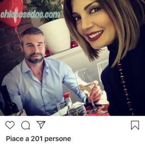 Alessia Mancini ed il marito Flavio Montrucchio..