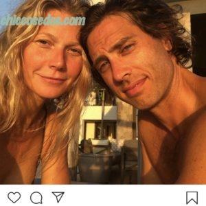 Gwyneth Paltrow ed il marito Brad Falchuk