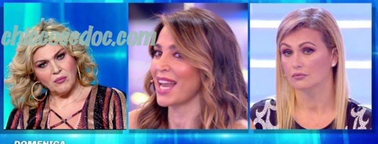 """""""DOMENICA LIVE"""" - Eva Henger, Cecilia Capriotti, Paola Di Benedetto e, in collegamento, Nadia Rinaldi"""