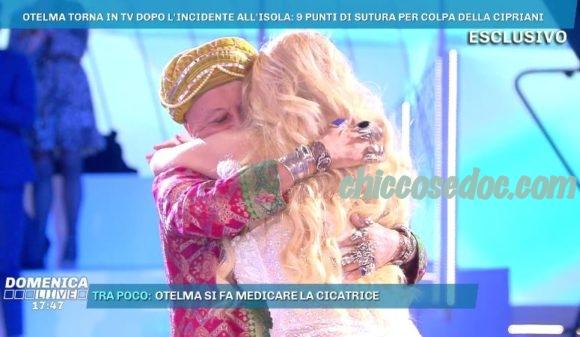 """""""DOMENICA LIVE"""" - Il Divino Otelma e Francesca Cipriani.."""