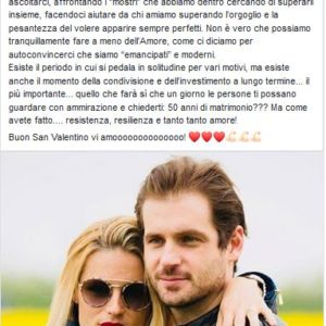 Michelle Hunziker ed il marito Tomaso Trussardi..