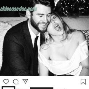 Miley Cyrus ed il marito Liam Hemsworth