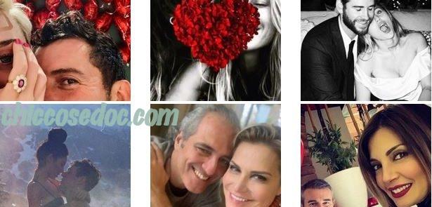 """""""SAN VALENTINO 2019"""" - Gli auguri social delle coppie note..."""