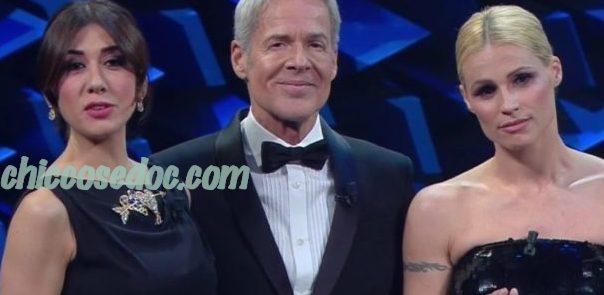 """""""SANREMO 2019"""" - Claudio Baglioni, Virginia Raffaele e Michelle Hunziker"""