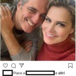 Simona Ventura ed il compagno Giovanni Terzi..