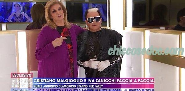 """""""LIVE NON E' LA D'URSO"""" -  Iva Zanicchi e Cristiano Malgioglio confermati opinionisti del """"GF 16"""""""
